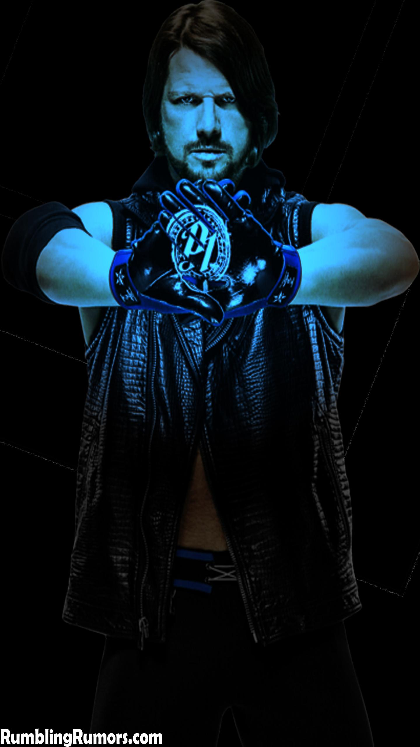 "WWE AJ Styles /""le phénoménal un/"" Custom Shirt pour Mattel figures."